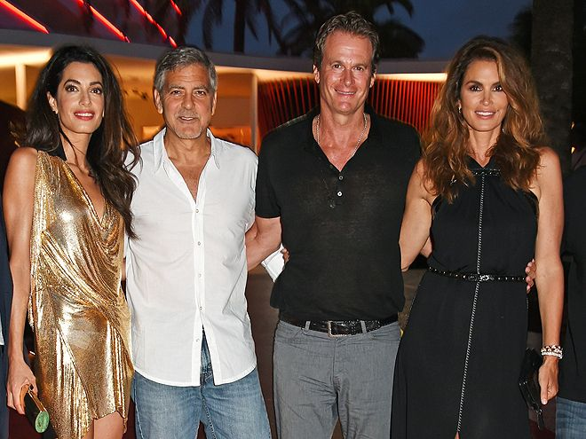Cindy Crawford and Rande Gerber Are Sure George Clooney Will Be an 'Amazing' Dad: 'He Doesn't Need Advice'