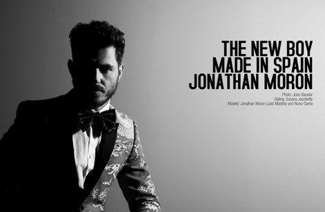 The New Boy Made in Spain: Jonathan Moron, nelle foto di Joâo Bacelar per il 20° anniversario del designer Nuno Gama. | Le pillole di Stefano
