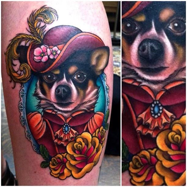 Megan Massacre  #FlashbackFriday One of my favorite tattoos from the first season of NY Ink!    Eu vi esse episódio. Adorei!!!