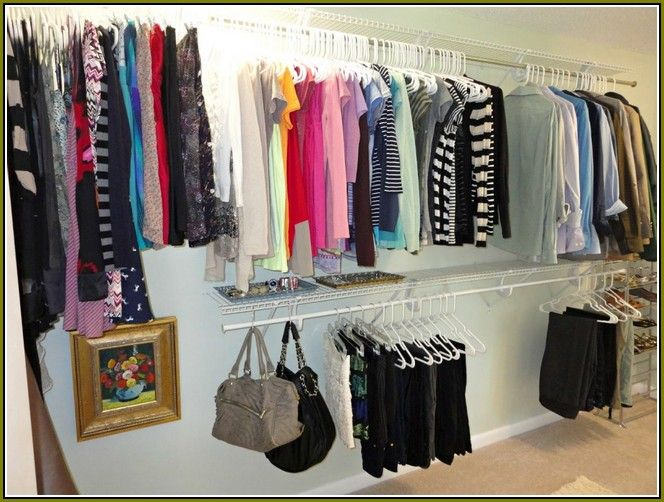 best 25 cheap closet organizers ideas on pinterest small bedroom ideas for couples cheap. Black Bedroom Furniture Sets. Home Design Ideas