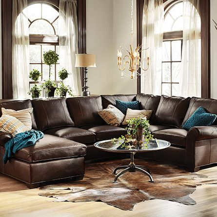 17 Best Ideas About Leather Sectional Sofas On Pinterest