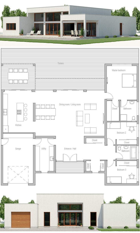 Plan de maison moderne, Design de maison minimaliste, Architecture #fashionphotographer # ..., #architecture #design #fashionphotographer #maison #minimaliste #moderne