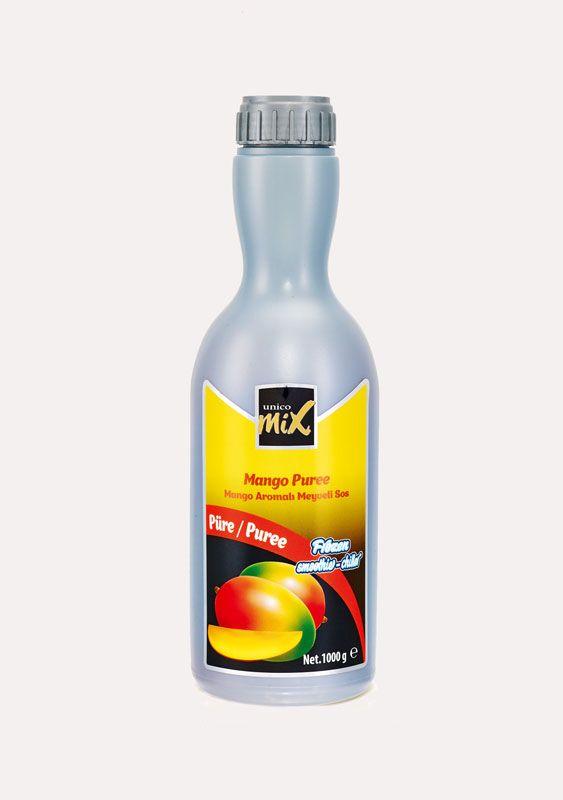 Unicomix Mango Aromalı Meyveli Sos Mango Puree