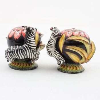 Ardmore Ceramics:  Zebra Salt & Pepper