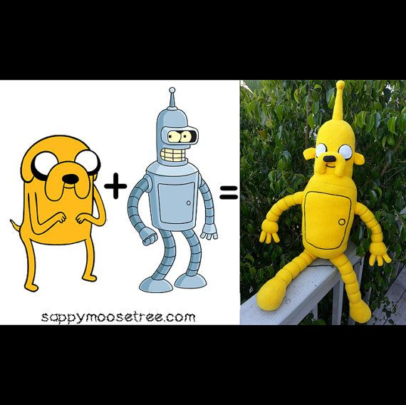 Jake Bender mash up Adventure Time and Futurama by sappymoosetree, $90.00  Wouldn't have to worry about who his voice actor would be.
