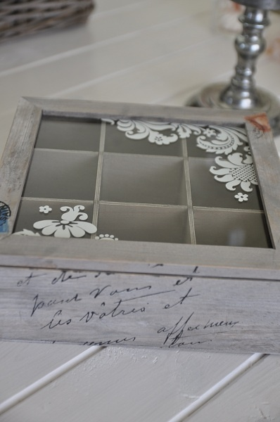 Wooden Tea Box- Want Andrew to make me this!