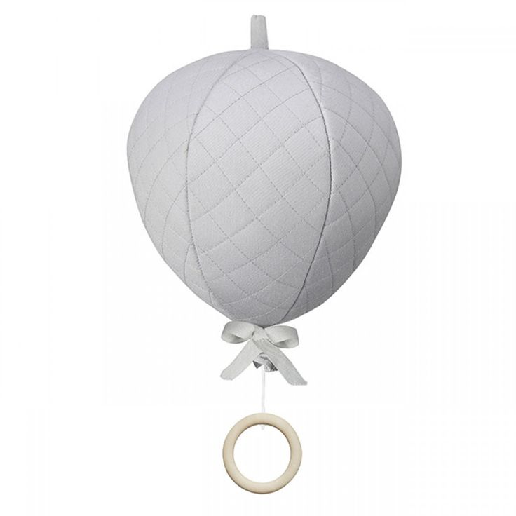 Designstuff proudly stocking beautiful grey balloon music mobile by popular Danish brand CAM CAM. Available online now!