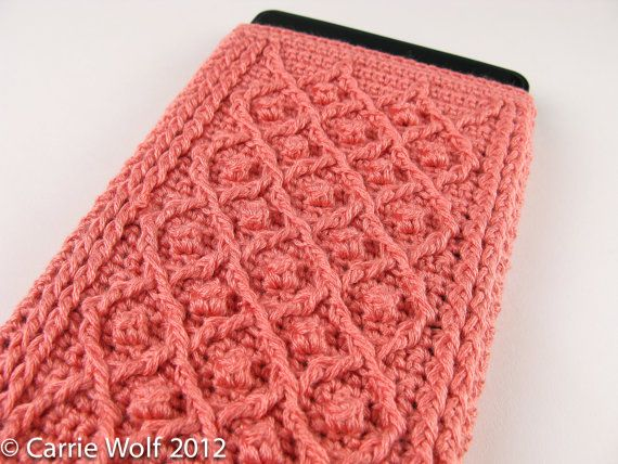 Crochet Pattern Kindle Fire Cover Summer and by ModernNeedlepoint, $6.00