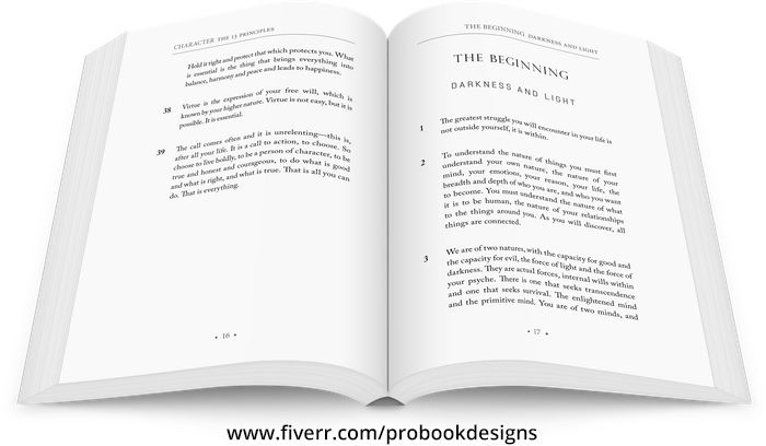 Do Book Interior Design Book Design Book Design Layout Book Layout