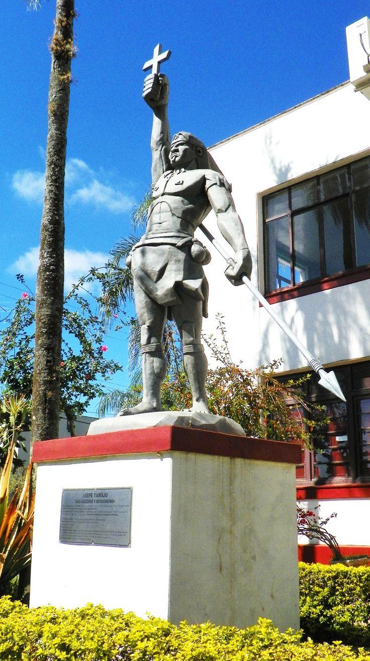 BLOG LG PUBLIC/São Francisco de Assis/Região: São Luiz Gonzaga: Pedido de canonização de Sepé Ti...