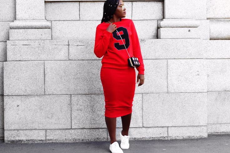 RED OUTFIT x TRENDY x WINTER OUTFIT x LAYERING