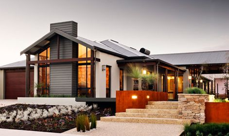 Rural building display homes the karridale retreat visit for Country home designs perth