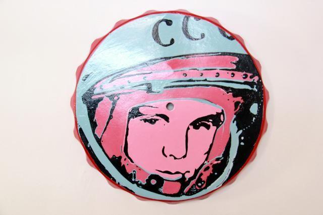 """Hoy Black Friday comprate algo de baja tecnología, como """"CCCP"""" de Samir Elneser - desde las 2pm hasta las 6pm en Galeria Neebex"""