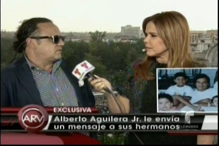 Hijo De Juan Gabriel, Alberto Aguilera Envia Mensaje A Sus Hermanos