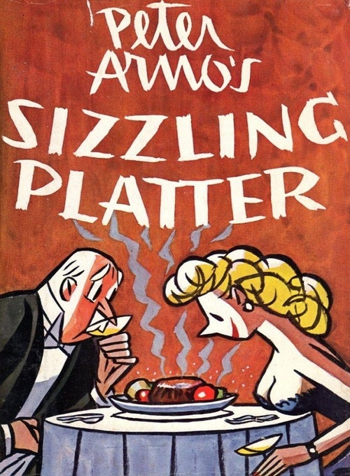 Sizzling Platter  Peter Arno  Cartoons Cover