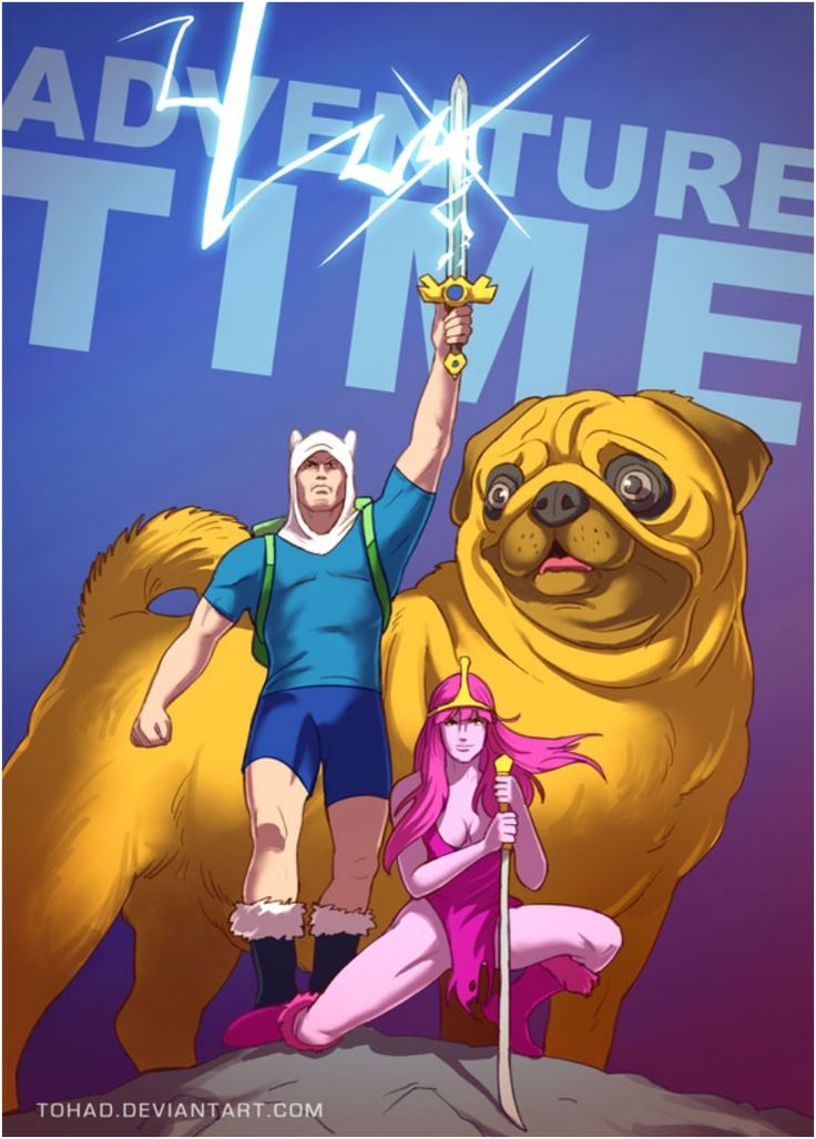 adventuretime_by_tohad-d7bgfk9
