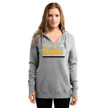 Women's+Majestic+Pittsburgh+Steelers+Self+Determination+Hoodie
