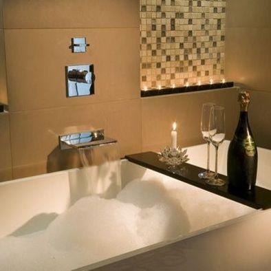 Freestanding tub with waterfall faucet | My Bathroom Remodel Fantasies | Pinterest | Bathroom, Modern bathroom and Bath