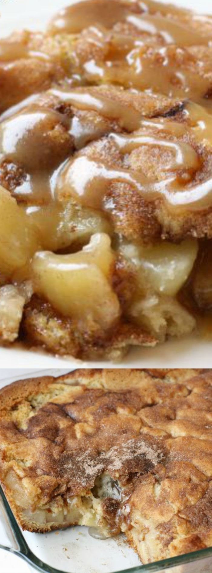 This Snickerdoodle Apple Cobbler recipe from Butter with a Side of Bread makes the perfect fall treat!