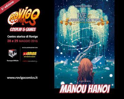 Manou Hanoi: Arrivo Rovigo Comics 2016!