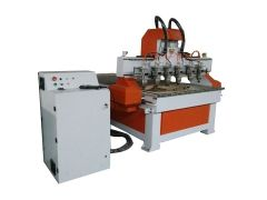 Multi heads 3D engraving cnc router for sale