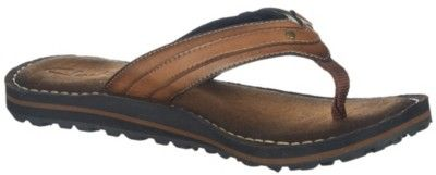 Clarks set a trend for casual footwear with the Flip Abby thong sandals. Sandals feature man-made upper with stitching
