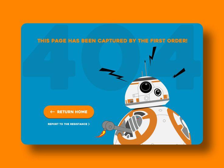 404 Error Page - Daily UI 008