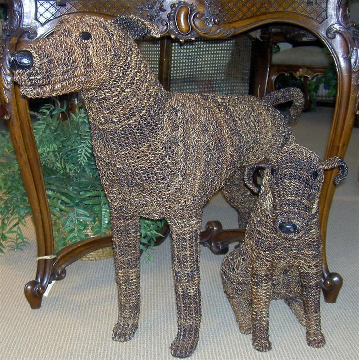 Abaca Woven Dogs