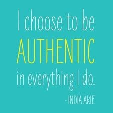 """My past don't dictate who I am, I choose."" -India Arie."