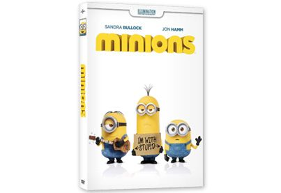 Jonah Minions DVD