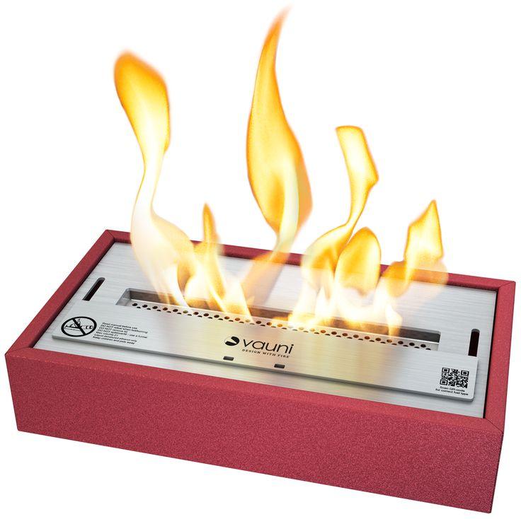 Store | Vauni - Vackert designade spisar för det nutida hemmet. Denna etanolbrännare är perfekt för dig som tröttnat på all rök och aska som din öppna spis orsakar. Ställ istället dit Vauni OF Wide och låt den brinna och skapa samma känsla och bekvämlighet som spisen gjort tidigare - men utan röken och askan! När du sedan vill använda den någon annanstans är det bara att lyfta ur den och placera den på önskad plats.
