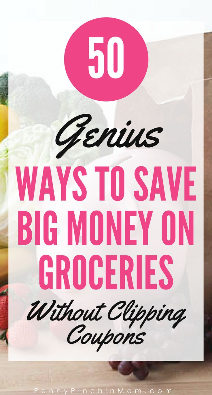 Simple ways to save more money on your groceries!    Save money on groceries | Budget Help | Saving Money | Money Saving Ideas | Grocery Savings Tips and Strategies via @PennyPinchinMom