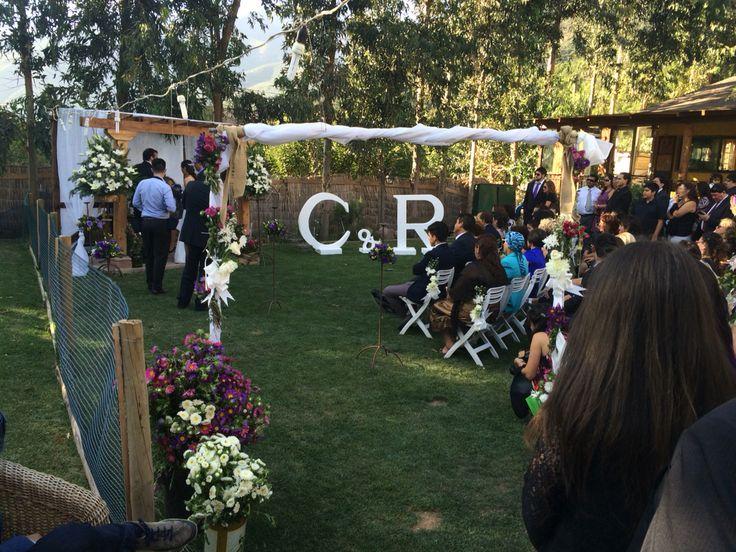 Matrimonio Cajon del maipo #matrimonio #boda #sanjosedemaipo #campestre