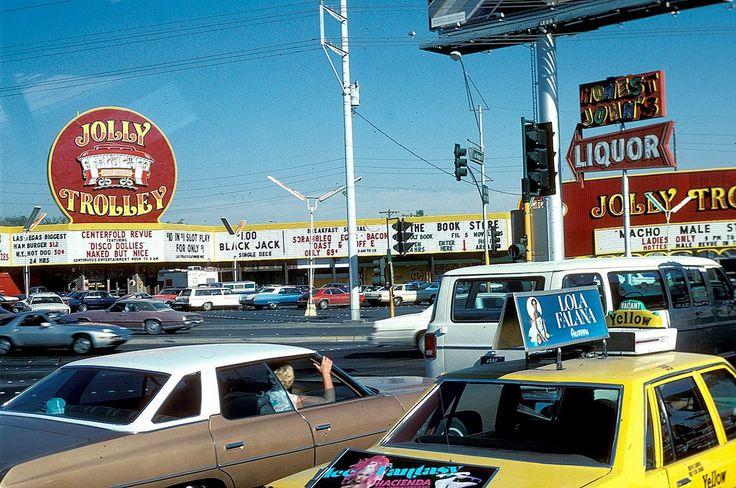 Jolly Trolley Casino Las Vegas 1979 Corner Of The