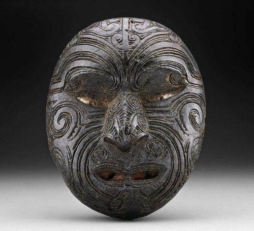Head Maori, 20th century - Art Curator & Art Adviser. I am targeting the most exceptional art! Catalog @ http://www.BusaccaGallery.com