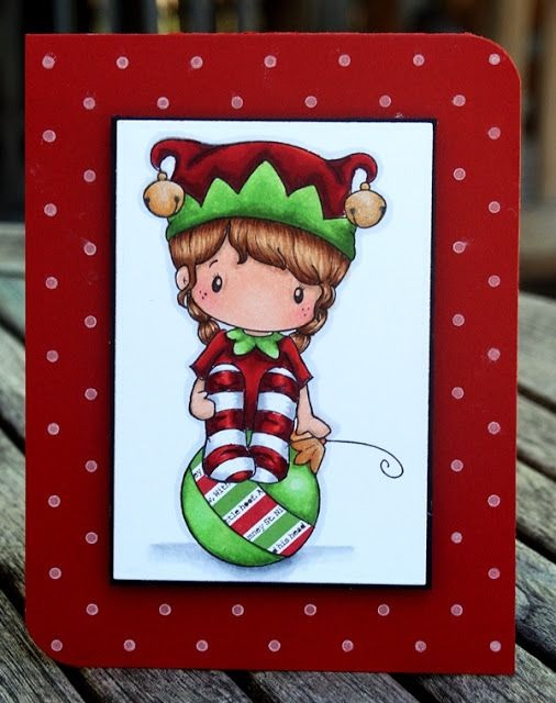 """Paper Perfect Designs by Kim O'Connell: C.C. Designs """"Elf Lucy"""""""