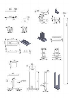 partsschematics.jpg schematics for a compressor to make compressed earth bricks.