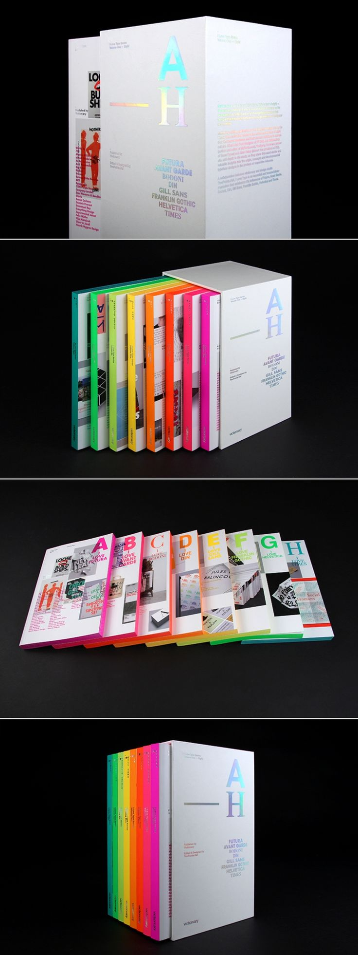 I Love Type Limited Box Set — The Dieline - Branding & Packaging Design - created via https://pinthemall.net