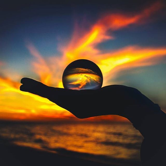 Lensball winner of the week: 'Fiery sunsets' by @pedrodecimus - Mention us in your caption and tag your Lensball photos with #lensball for a chance to win the Lensball!