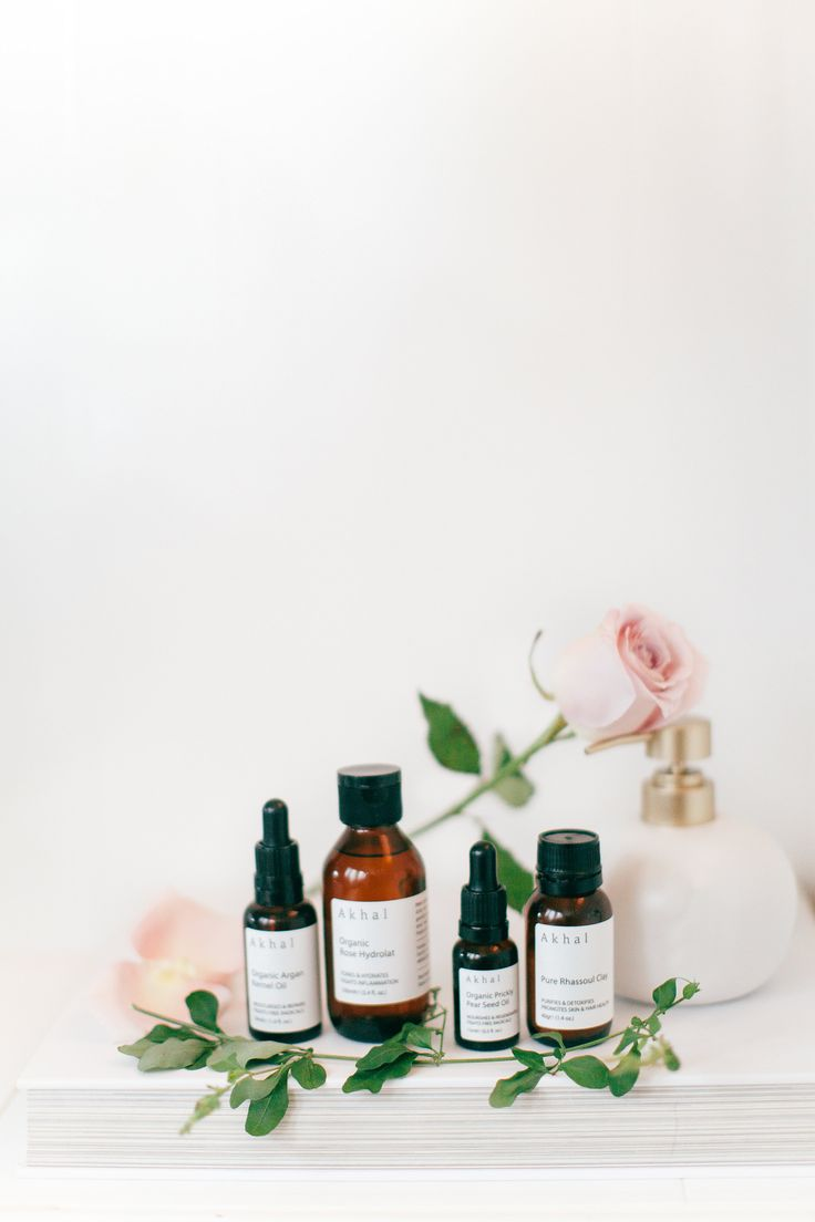 Organic Prickly Pear Seed oil, Organic Argan oil, Organic Rose water and Pure Rhassoul Clay+. Organic skincare products. Vegan and cruelty free beauty.