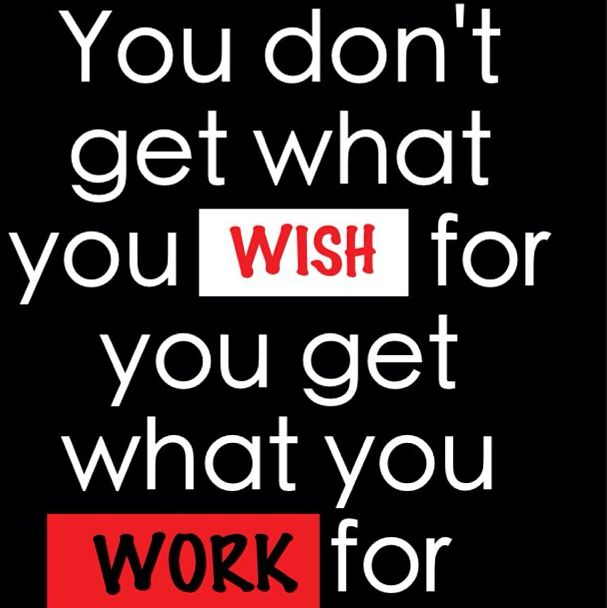 This is something I made sure my children knew early on! Do not waste your time on wishes, work for what you want! So keep blowing the weeds and see how smart you feel when the world passes you by! ~ LRM
