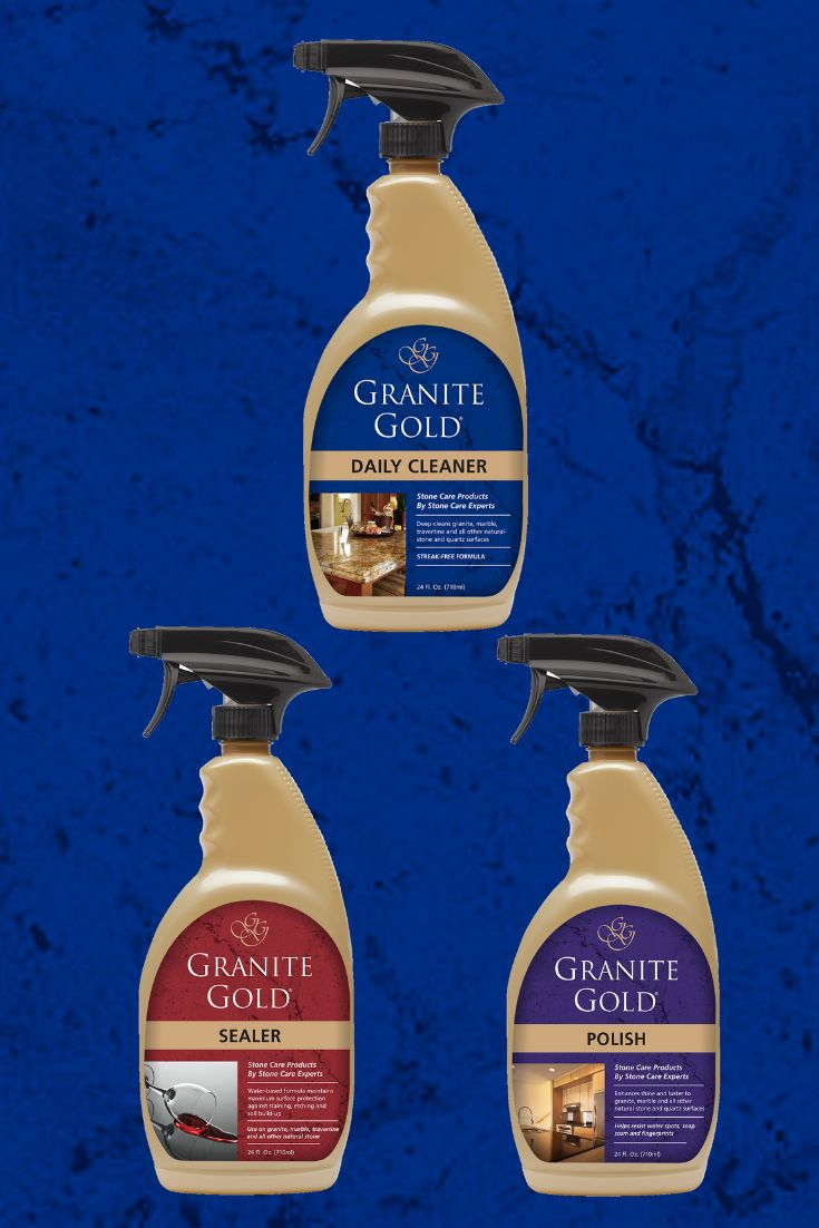 For granite marble more stains soap scum water spots