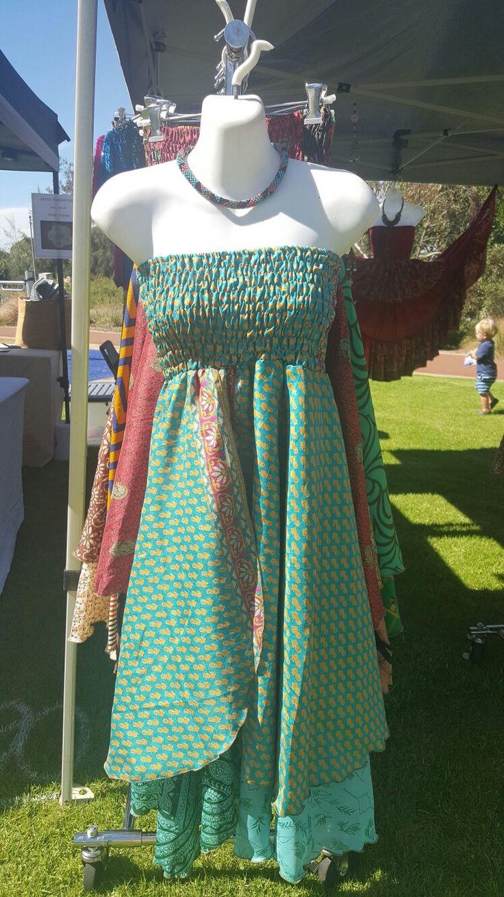 Double layered tube dress