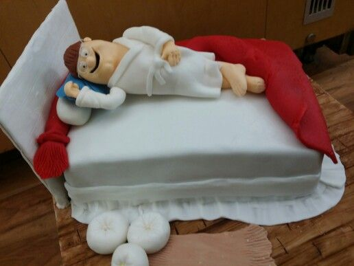 Bed cake by elina