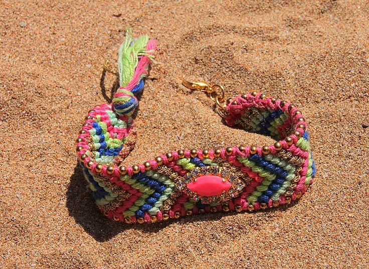Embellished Friendship bracelets  https://www.facebook.com/LOTUSbyM