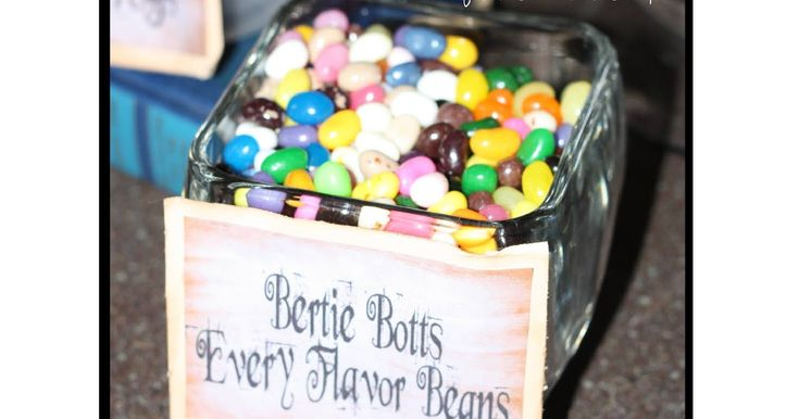 """No recipe needed...just found jelly beans at the grocery store. I liked the off brand, so that """"Jelly Bellies"""" wasn't written across the be..."""