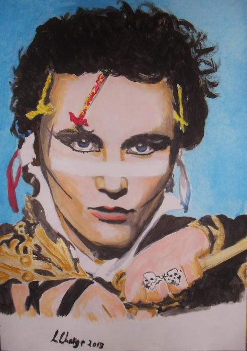 Adam Ant by Lindasart