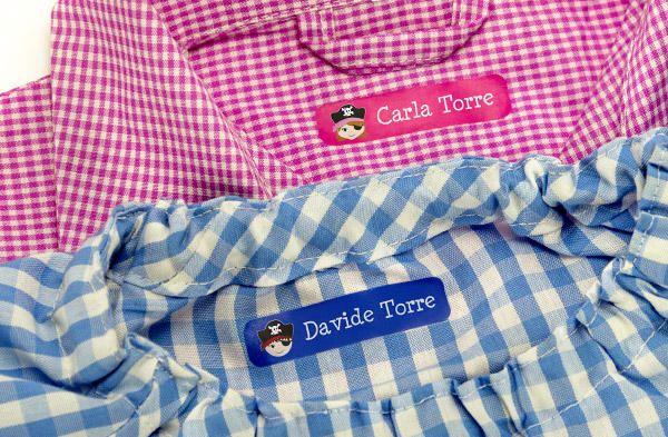 Etichette adatte a ogni capo d'abbigliamento. Rapide, termoadesive e personalizzate