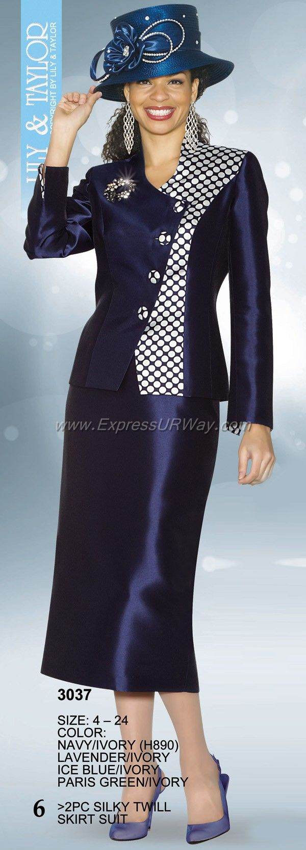 Mode Collection by Lily and Taylor - www.ExpressURWay.com - Lily and Taylor Mode, Womens Suits, Womens Designer Suits, Ladies Suits, Suits For Women, Church Suits