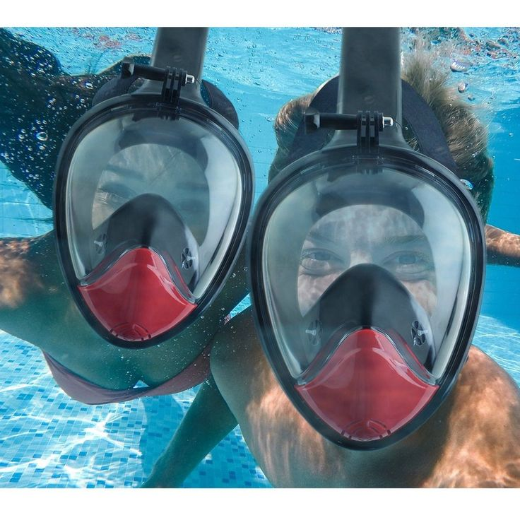 THE SNORKEL MASK:It is a good choice! It works great for all including beginners, vacation snorkelers, and the divers. You also can mount a Gopro camera on snorkel mask and capture all the amazing things when you are snorkeling.   #Diving #Mask #Easy  #Gopro #Compatible #Travel #Sea